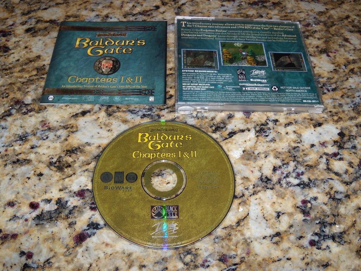 Baldur's Gate Chapters 1 & 2 Demo Disc 1999.jpg